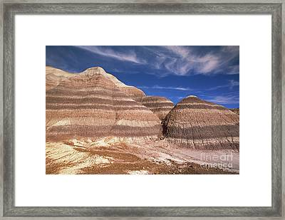 Blue Mesa Arizona Framed Print