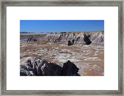 Blue Mesa Framed Print by Gary Kaylor