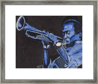 Blue Miles Framed Print