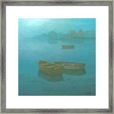 Blue Mist Framed Print by Steve Mitchell