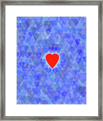 Blue Monday Framed Print by Bruce