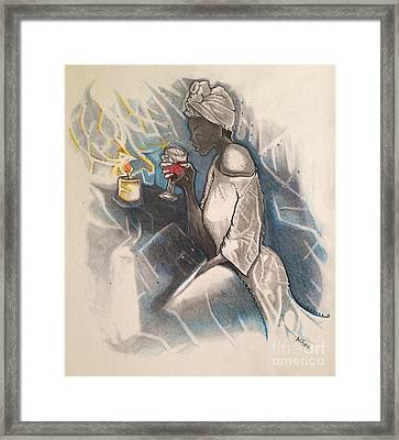 Blue Monday Framed Print by Gregory Taylor