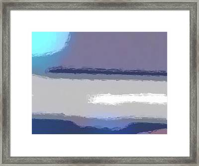Blue Moon Framed Print by Tom Druin