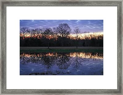 Blue Morning Framed Print by James Jones