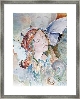 Blue Morpho Framed Print