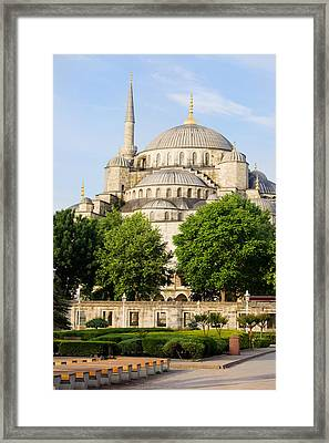 Blue Mosque Framed Print by Artur Bogacki