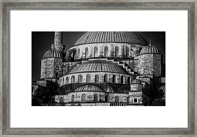 Blue Mosque Dome Framed Print by Stephen Stookey