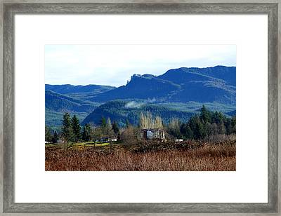 Blue Mountain Framed Print by Sergey Nassyrov