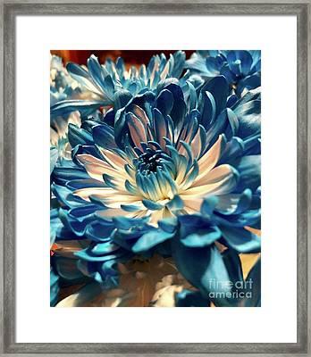 Blue Mum Framed Print