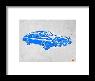 American Muscle Cars Framed Prints