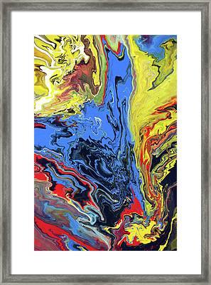 Blue Nemesis Framed Print