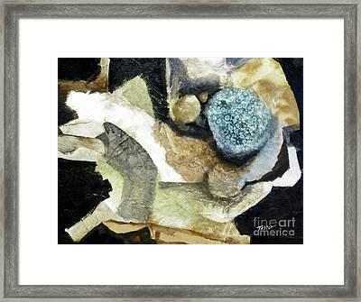 Blue Nest Framed Print