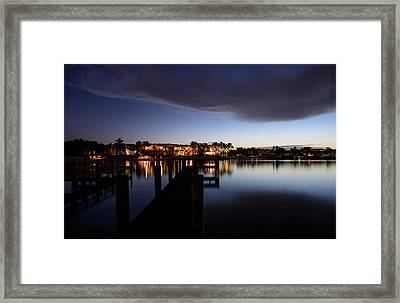 Blue Night Framed Print by Laura Fasulo