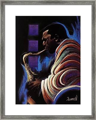 Blue Note Framed Print by Albert Fennell