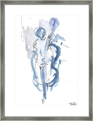 Blue Note Framed Print by Tali Farchi