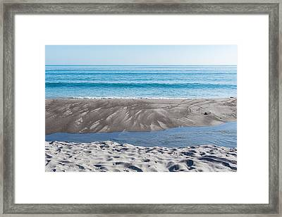 Blue Ocean Framed Print by Martin Capek