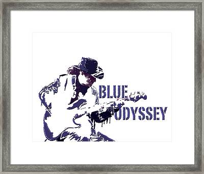 Blue Odyssey Framed Print
