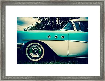 Blue  Framed Print by Off The Beaten Path Photography - Andrew Alexander