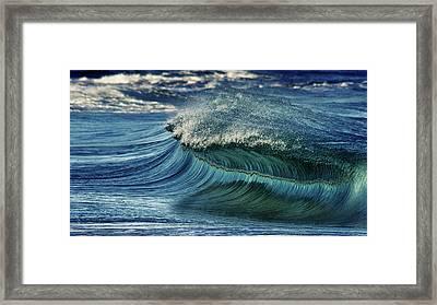 Blue Pearl  Framed Print