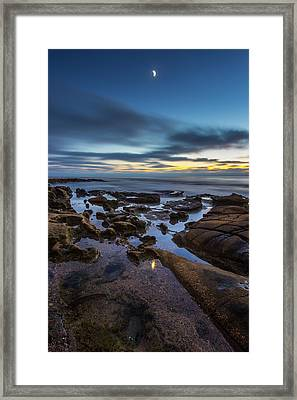 Blue Framed Print by Peter Tellone