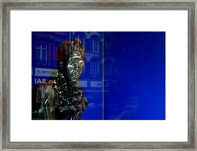 Blue Queen 2 Framed Print by Jez C Self