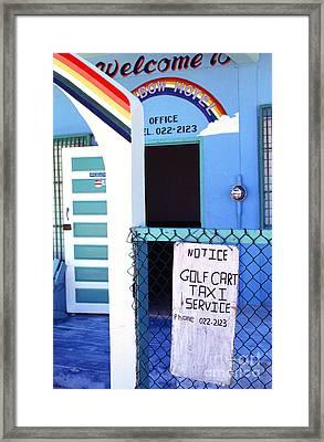 Blue Rainbow Framed Print by Thomas R Fletcher