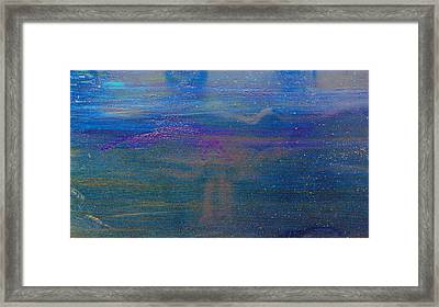 Blue Revisited Framed Print