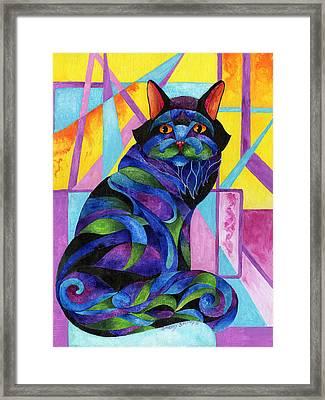 Blue Rhapsody Framed Print by Sherry Shipley