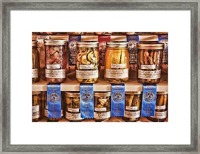 Blue Ribbon Winners Framed Print by Vicki McLead