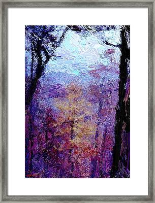 Blue Ridge Autumn Framed Print by Gerhardt Isringhaus