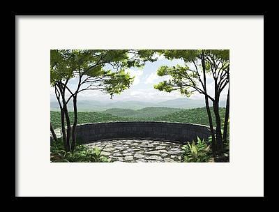 Blueridge Framed Prints