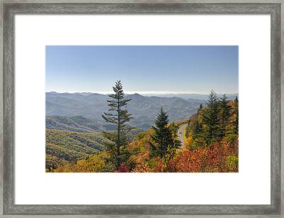 Blue Ridge Drive Framed Print by Darrell Young