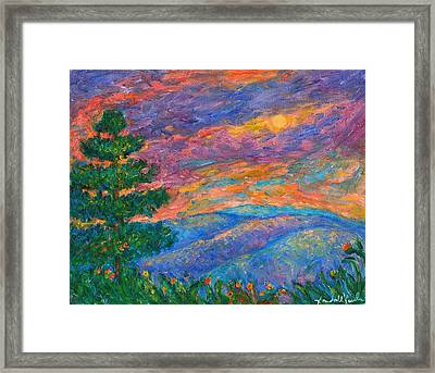 Blue Ridge Jewels Framed Print