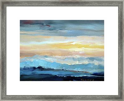 Blue Ridge Mountain Sunset 1.0 Framed Print