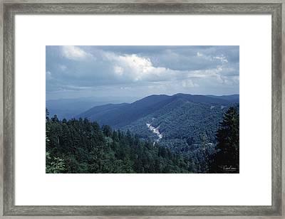 Blue Ridge Mountains 2 Framed Print