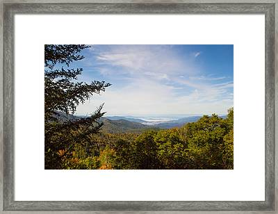 Blue Ridge Mountains - A Framed Print by James Fowler