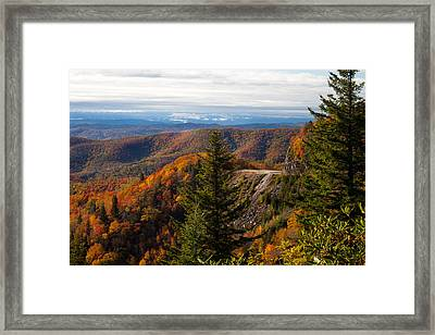 Blue Ridge Parkway Framed Print