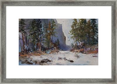 Blue Ridge Pass Framed Print