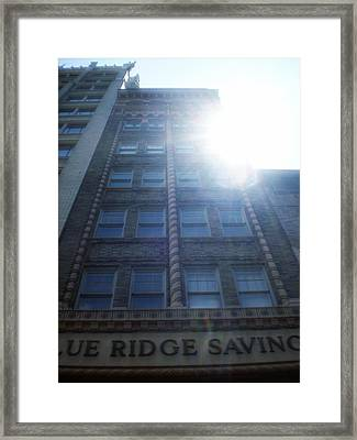 Blue Ridge Savings Bank Framed Print by Utopia Concepts