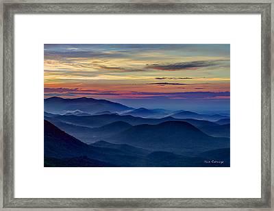 Blue Ridges Pretty Place Chapel Framed Print by Reid Callaway