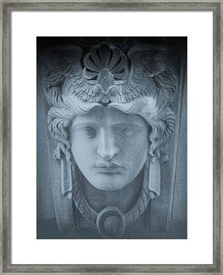Blue Roman Framed Print