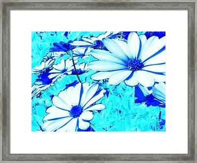 Blue Season Framed Print by Ingrid Dance