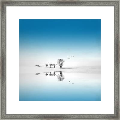 Blue Season Framed Print