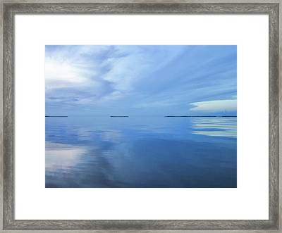 Blue Serenity Framed Print