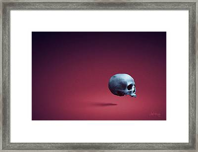 Framed Print featuring the photograph Blue Shell by Joseph Westrupp