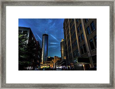 Blue Skies Above Framed Print
