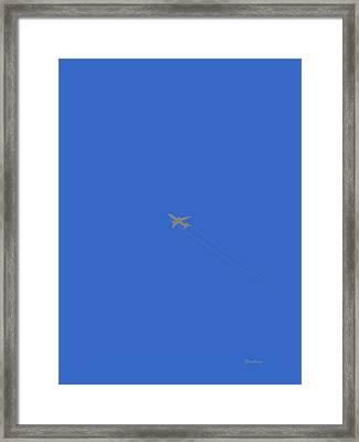Blue Skies At Noon Framed Print