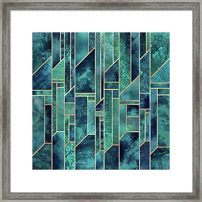 Blue Skies Framed Print by Elisabeth Fredriksson
