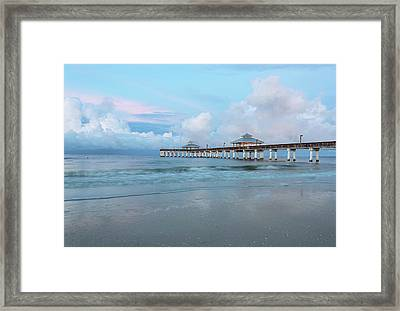 Framed Print featuring the photograph Blue Skies by Kim Hojnacki