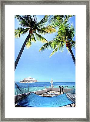 Framed Print featuring the photograph Blue Sky Breezes by Phil Koch